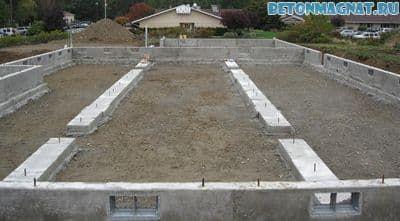 Пав бетон опил бетон