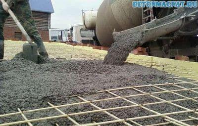 Вес монолитного бетона купить добавка в бетон противоморозная